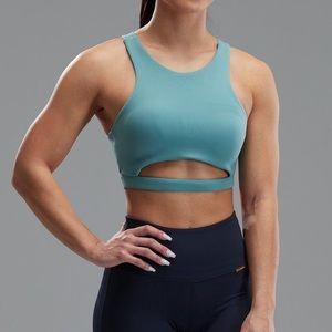 Cleo Harper Coco Evergreen Cut-out Sports Bra S